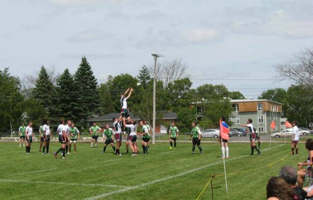 U18 NB 5 Meter Attacking Lineout